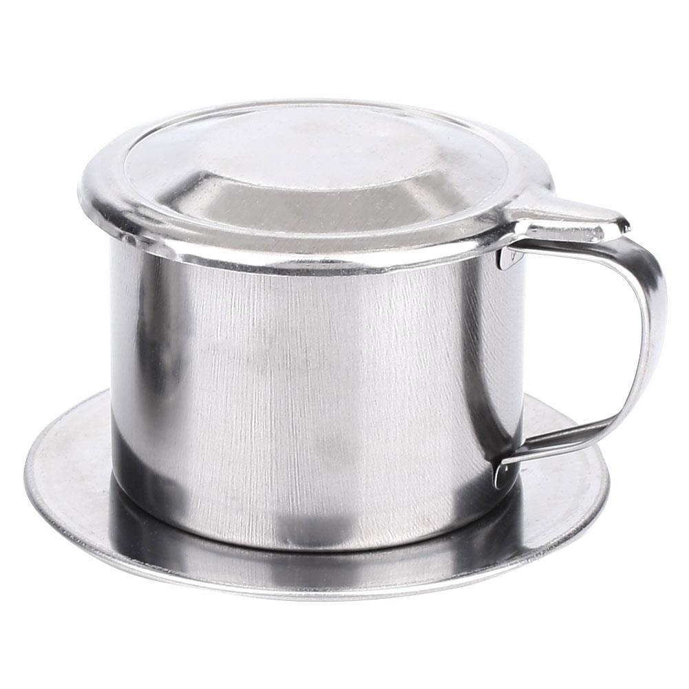 Vietnamese Coffee Filter Coffee Filter Cup Mug With Filter Coffee Filter Vietnam Stainless Steel Maker Portable Durable Coffee Filters Aliexpress