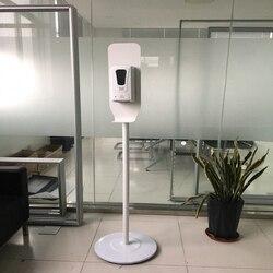1000ml Hand Sanitizer Dispenser Tragbare Automatische Seife Dispenser Mit Stehen keine flüssigkeit Für schule, zu hause, hotel, supermarkt