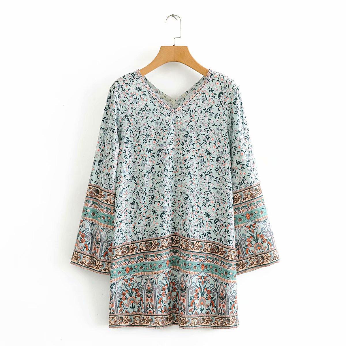 2020 New Spring Summer New Style European Green Shivering Short Female Dress Zaraing Vadiming Sheining Women Dress WDD60337