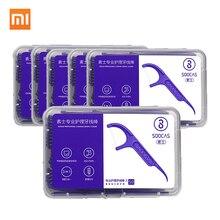 300 шт Xiaomi SOOCAS зубная нить для размещения между прутьями зубочистки провода зубочистки зубная нить гигиена полости рта 50 шт./кор. 6 коробка