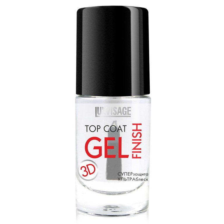 Top Coat For Nails Luxvisage 8G Gel Finish  Colors Matte UV Gel Nail Polish 8ml Pure Nail Color Need Matte Top Coat Soak Off Nail Art Gel Varnish Manicure