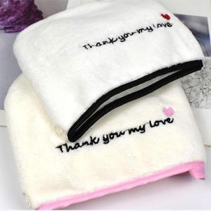 Image 5 - משלוח חינם מיקרופייבר שיער ייבוש מהיר מייבש מגבת 25cm x 65cm אמבטיה לעטוף כובע מהיר כובע טורבן יבש