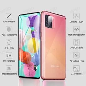Image 2 - Szkło hartowane dla Samsung A51 A50 A70 ochraniacz ekranu ze szkła A51 szkło obiektywu dla Samsung Galaxy A50 A51 A10 A01 A30 A40 A20 A71