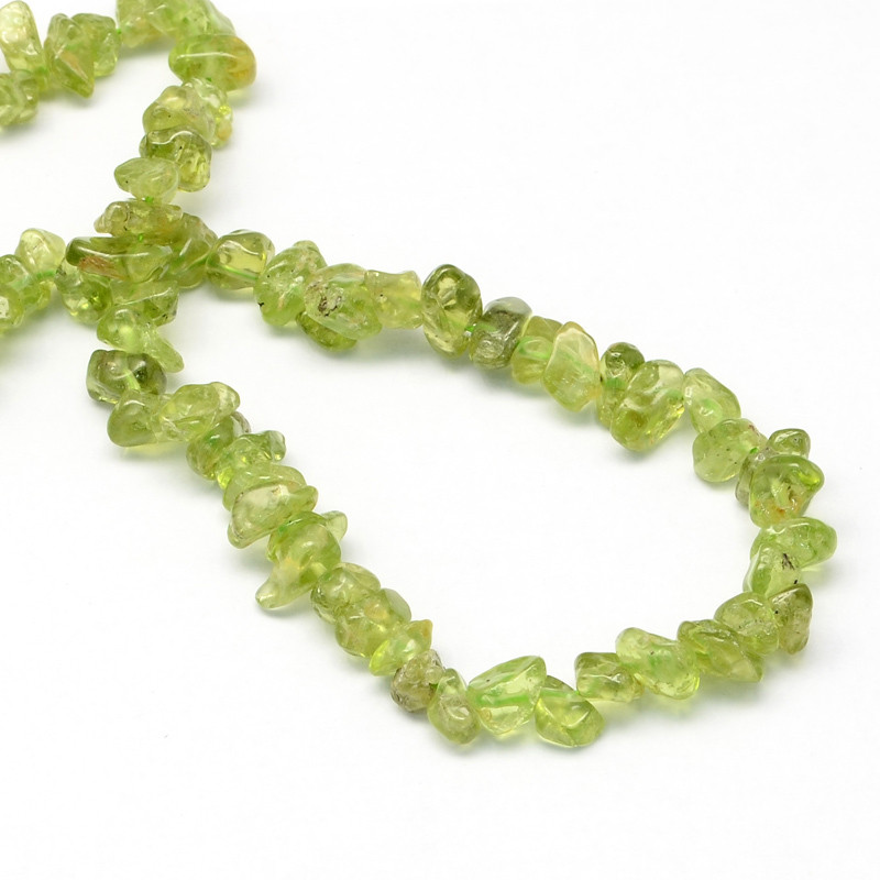 Natural Peridot Stone Bead Strands Decoration Bracelet Accessories size 6 9x6 9x2 4mm Hole 1mm about