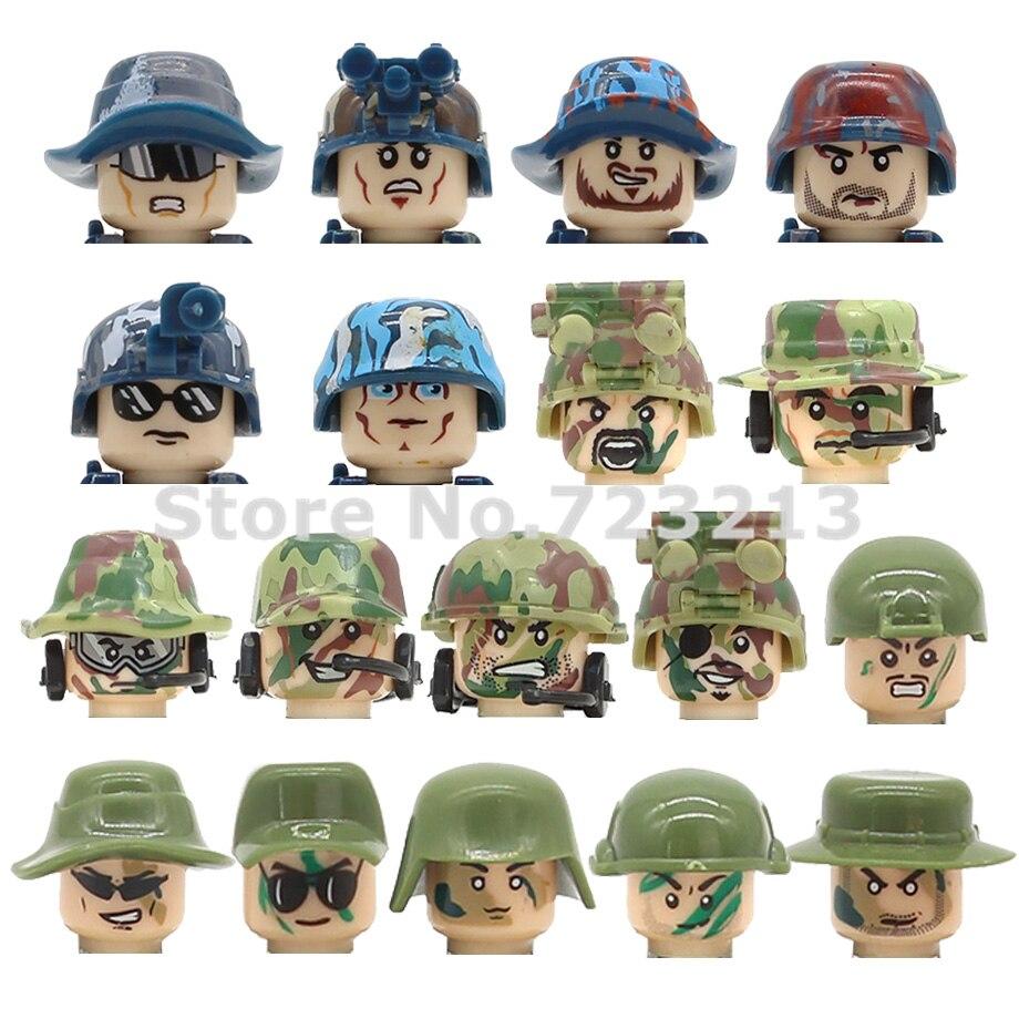 Одиночная распродажа, военная Современная фигурка спецназа, полицейский щит, оружие, кирпичи, конструктор, модель, игрушки для детей SY11101