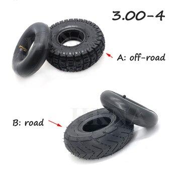 10 pulgadas 3,00-4 (260x85) neumáticos tubo interior para Razor E300 Scooter, go-kart, Utility Dolly, eléctrico/Gas Scooter ATV piezas de neumáticos