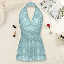 Underwear Nightdress Babydoll Hanging See-Through Neck-Lace Lenceria Caliente Sexy Hot