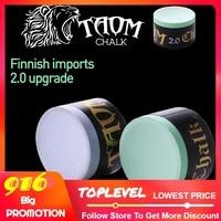Taom Chalk Round Blue Green Colors Billiard Chalk Pool Chalk Billiard Accessories Snooker Chalk Professional Cue Chalk China