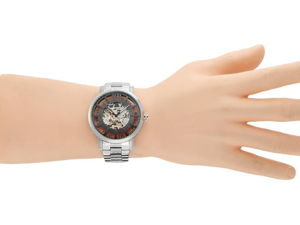 Forsining Nieuwe Mode Mannen Mechanische Automatische Horloge Jurk Horloges Voor mannen Gift Klok Mannelijke Reloj Hombre Relogio Masculino - 6