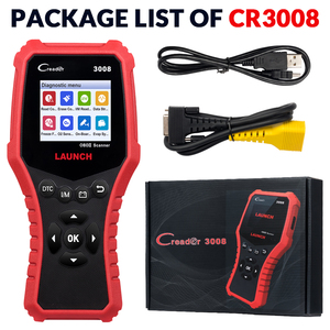 Image 5 - LAUNCH Creader CR3008 Auto OBD2 EOBD code reader scanner CR 3008 for Engine Multi language PK KW850 diagnostic tool