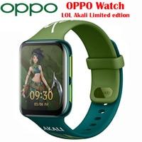 OPPO-reloj inteligente edición LOL Akali, Original, con GPS, teléfono móvil, 1,91 pulgadas, AMOLED, Flexible, VOOC, 430Mah
