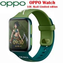 Oryginalny oficjalna ocena w nowej OPPO zegarek LOL Akali edycja Smartband eSIM komórek telefon z GPS 1.91 cal AMOLED elastyczne zegarek VOOC 430Mah
