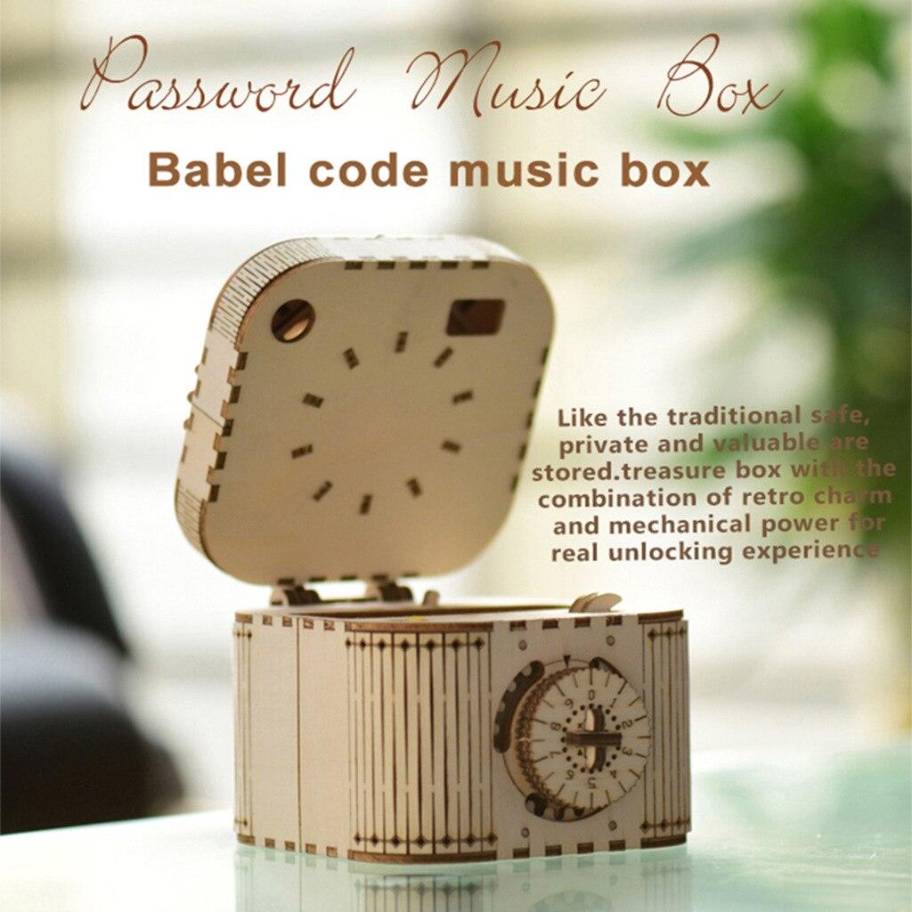 New Hand Craft la la land Can't Help Falling In Love Hand Crank Music Box caja musical Queen Bohemian Rhapsody Christmas gift