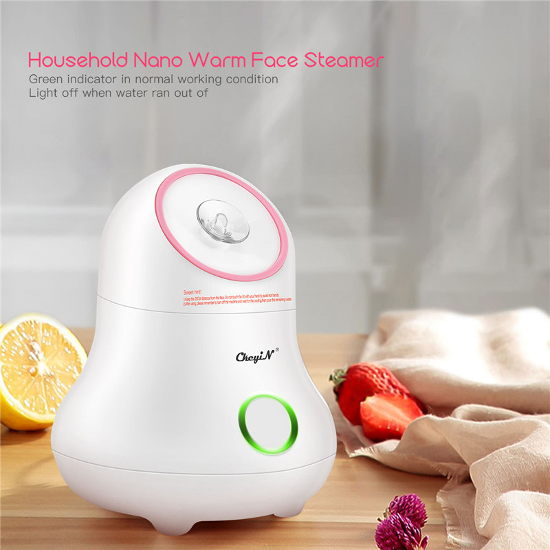 Fruit Vegetable Face Steamer Spa Facial Beauty Machine Skin Care Moisturizing Hot Steam Nano Spray Whitening Mist Humidifier 45
