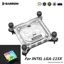Barrow CPU Water Blocks For INTEL LGA-115X(1150 1151 1155 1156) LRC2.0 RGB SYNC 5V Computer Water Cooling Block  LTYK3-04 V2