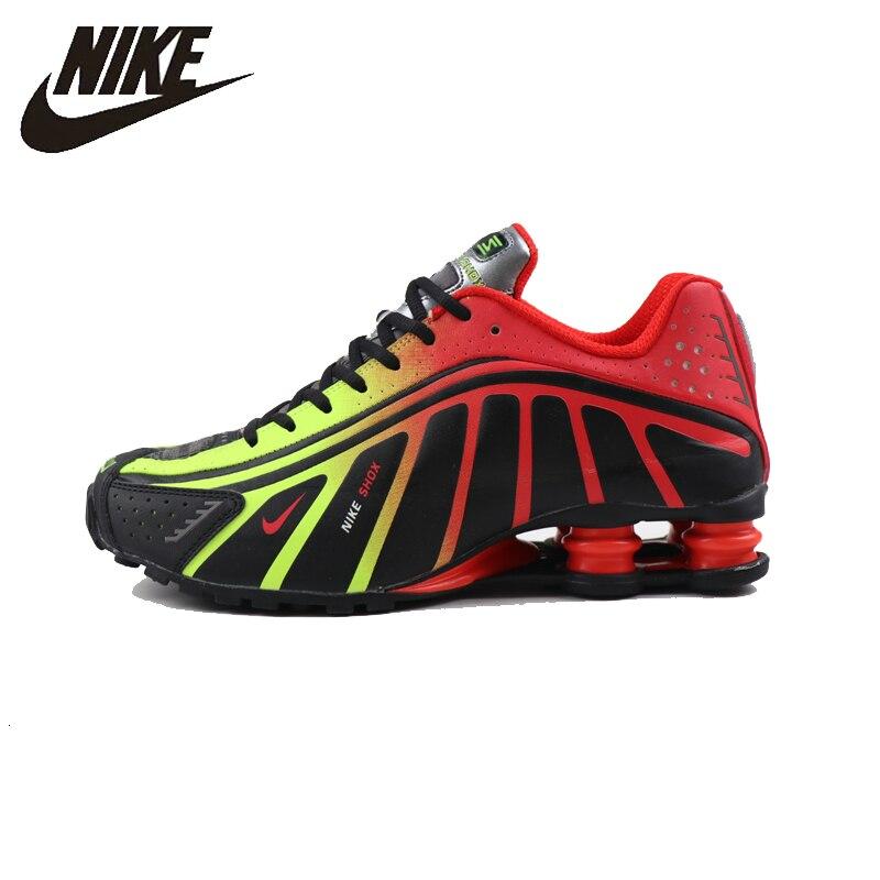 Nike Shox R4 Men Running Shoes New Arrival Original Air Max Tn ...