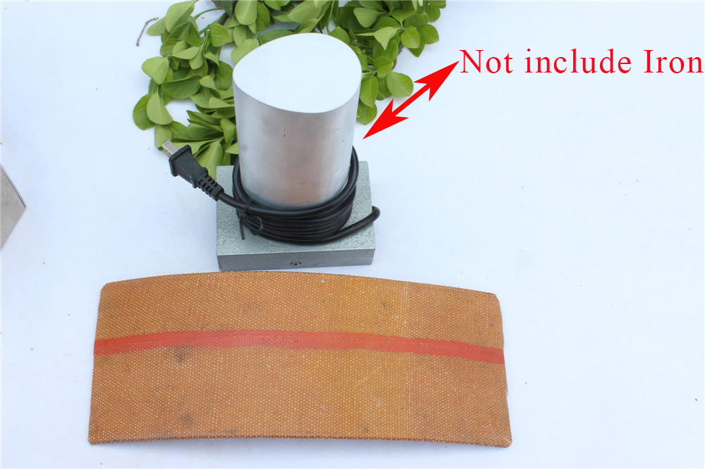 1pcs Rib Bending Iron Belt Plate Strap For Cello Guitar Wood Bend Strong & Durable