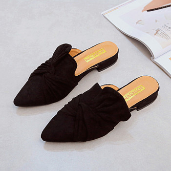 Pointed toe slippers mules for women  8