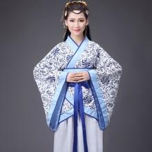 Chińskie tradycyjne nowy rok kobieta wydajność taniec Hanfu 14 kolorów kobieta Party strój Tang dziewczyny suknia w stylu qipao Retro kostiumy