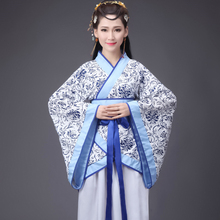 Chinese Traditional New Year Woman Performance Dance Hanfu 14colors Female Party Tang Suit Girls Cheongsam Dress Retro Costumes