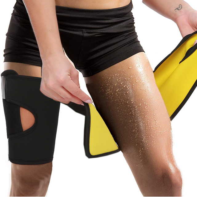 Portable Sports Gym Sauna Corset Thigh Trimmer Slim Belt Women Neoprene Sweat Slimming Modeling Strap Weight Loss Tools 1
