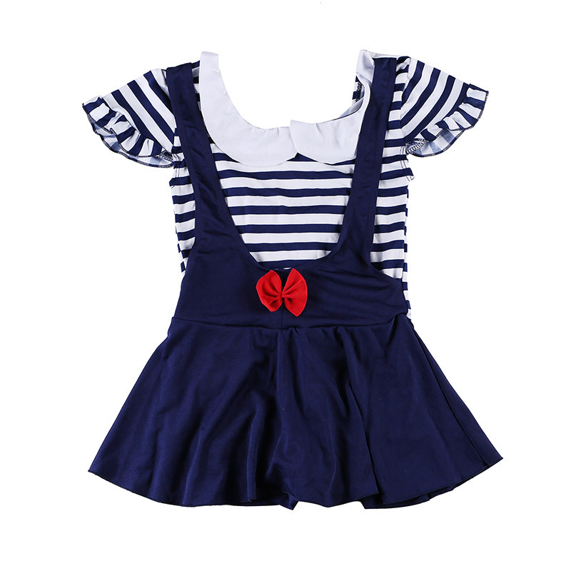 KID'S Swimwear Cute Little Girl Baby Girls Hot Springs Dress-Korean Style Princess Tour Bathing Suit