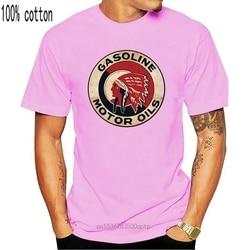 Red Indian Motor Oil - Mechanics Graphic Work Shirt  Short Sleeve