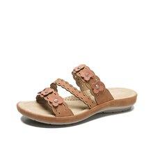 Повседневный женщин сандалии платформы флип-флоп сандалии стелька с цветочным мягкие удобные летний пляж обувь скольжения на тапочки