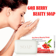 Моющее очищающее мыло для рук Sope DISA Goji, Отбеливающее увлажняющее мыло для лица и тела, увлажняющее Отбеливающее очищающее средство, осветляющее#30925