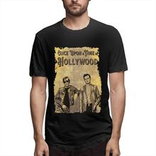 Kenneth Allen Once Upon A Time in Hollywood Men's Fun Short Sleeve Black Cheap Sale 100 % Cotton T Shirts For Boys a wunderer 24 etuden in allen tonarten