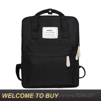 New Waterproof Canvas Multifunction Large Capacity Backpacks Fashion Women Bags Teenagers Travel Laptop Backpack Girls Schoolbag new unisex backpacks pure color bags drawstring backpack large capacity schoolbag shopping travel clother storage bags 10aug 13