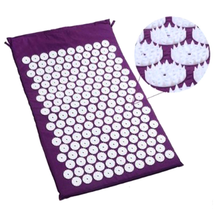 SEC88 Acupressure Massage Mat with Pillow set for Stress Pain and Tension Relief 25