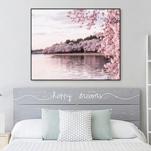 Scandinavian Landscape Canvas Painting Posters And Prints Wall Art Picture For Living Room Bedroom Decoration Modern Home Decor nordic lavender sea landscape posters and prints canvas painting flower scandinavian wall art picture for living room home decor