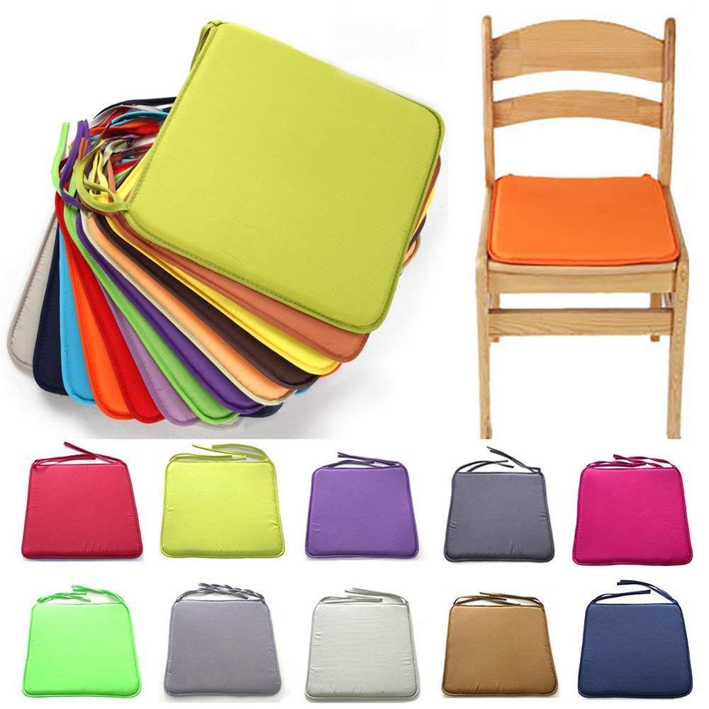 Подушка на стул для обеденные стулья квадратный Кухня офисная Подушка на стул сидение домашний декор Non-slip диван автомобильное кресло колод...