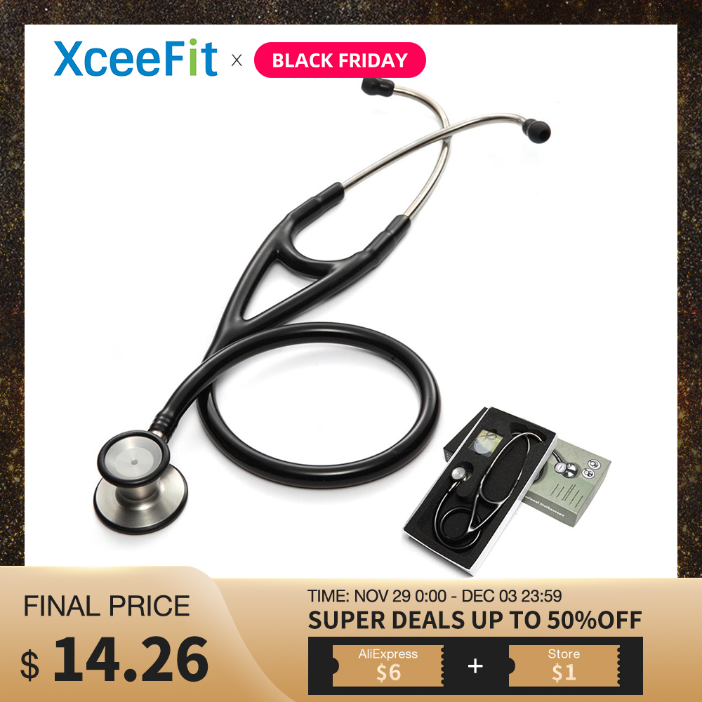 Professional Dual Head Stethoscope Cardiology Stethoscope Doctor Medical Stethoscope Doctor Medical Equipment Devices Nurse