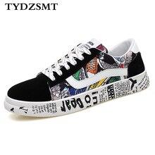 Tydzsmt 2020 verão mulher tênis branco sapatos casuais amantes impressão moda apartamentos senhoras vulcanizado sapatos zapatos de mujerSap. Vulcaniz. Fem.