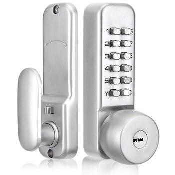 Mechanical Password Door Lock Home Office Room Door Lock Anti-Theft Door Password Key Dual-Use