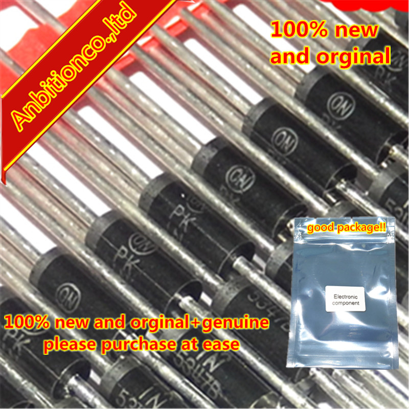 50pcs  100% New And Orginal 1N5368B 5W 47V 1N5368BRLG In Stock