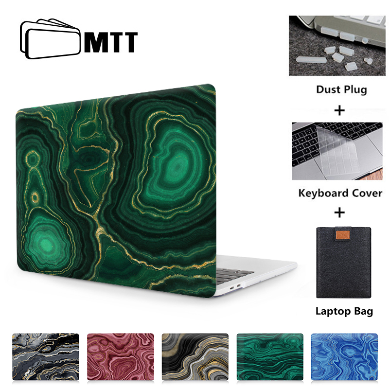 MTT 2019 Laptop Sleeve For Macbook Pro 16 Case A2141 Marble Cover For Mac Book Air Pro Retina 11 12 13 15 Inch Funda Laptop Case