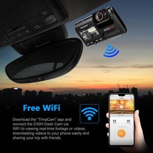 Image 3 - Wideorejestrator samochodowy rejestrator GPS 4K 2160P, wiFi, podwójny obiektyw, Novatek 96663 chip Sony IMX323 czujnik noktowizor, D30H