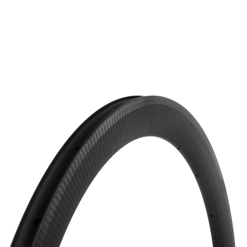 Jante en Fiber de carbone 50mm pneu vélo de route jantes 3k twill