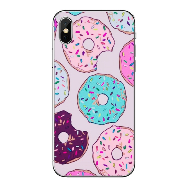 Silicon Soft Case For Huawei P30 P20 Pro P10 P9 P8 Lite Y5 Y6 Y7 Y9 P Smart Plus 2018 2019 Dunkin Donuts coffee TPU Phone Case