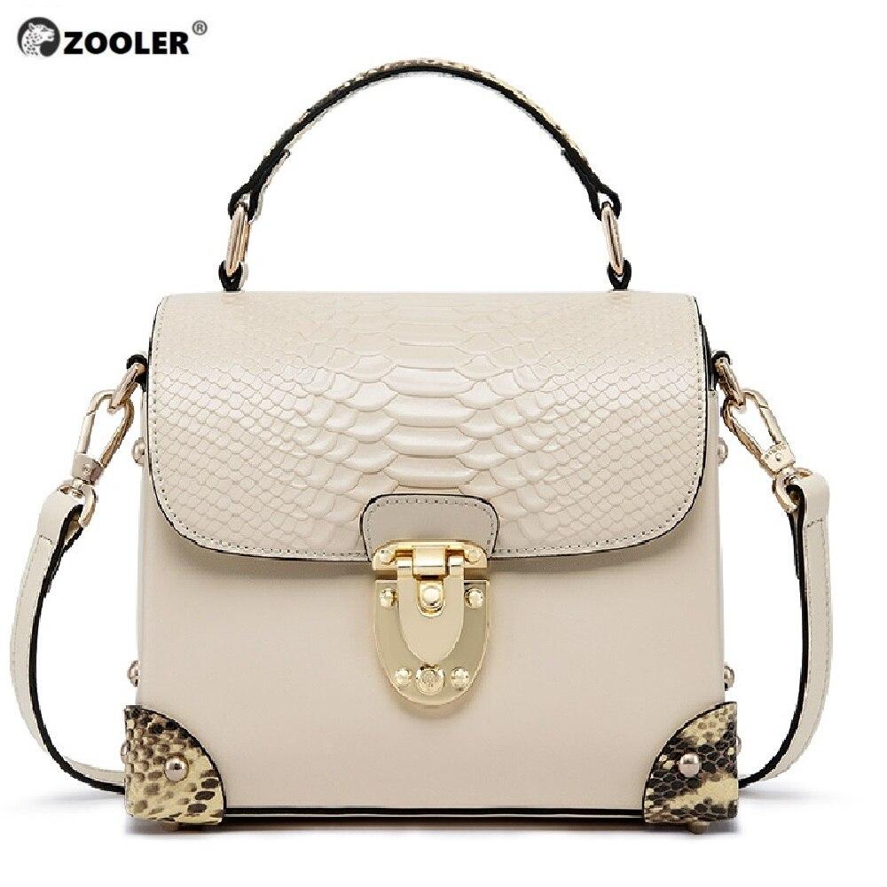 Bagaj ve Çantalar'ten Üstten Saplı Çanta'de ZOOLER 2019 kadın deri çanta kadın lüks hakiki deri çanta omuz çantaları INEK deri tote çanta ünlü marka bolsas B230'da  Grup 1