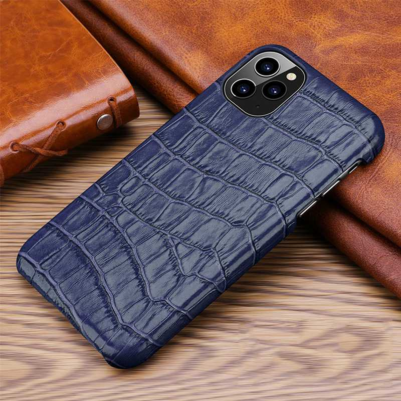 Luxury Genuine Cow Leather Case For iPhone 12 Pro Max 6