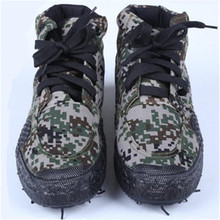 3520 Woodland Camouflage Training Shoes Anti-slip Wear-Resis