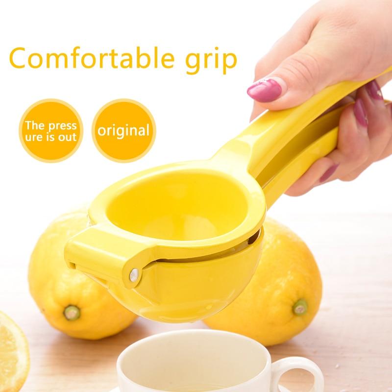 Соковыжималка для цитрусовых лимонно-оранжевого цвета, кухонные аксессуары, бытовой многофункциональный портативный мини-блендер, кухонный инструмент, ручная ручка 2