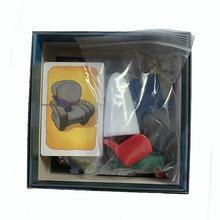 Jogo de tabuleiro geistes 2-8 jogadores, família/festa, melhor presente para crianças, instruções em inglês, cartões jogo blitz,