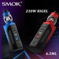 ¡Nuevo! SMOK-Kit de cigarrillo electrónico Rigel, vaporizador Original de 230W con tanque TFV9, atomizador, caja Rigel, para bobina de bebé V8