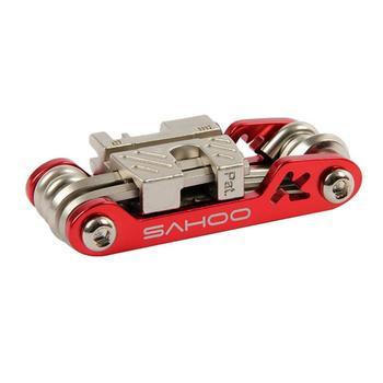 Многофункциональный инструмент для ремонта велосипеда, шестигранный шуруповерт для спиц 17 в 1, набор для шоссейного горного велосипеда, вел...