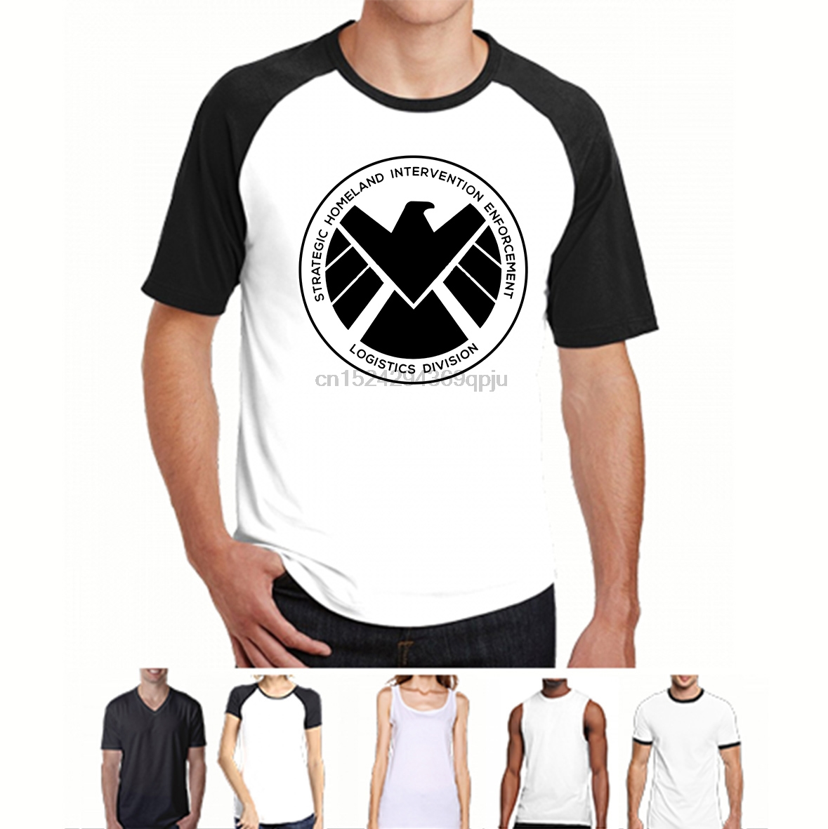 XXXL SUPERHERO SHIELD TV SERIES LOGO COULSON AGENTS OF S.H.I.E.L.D SHIRT S